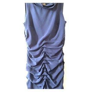 Taylor ruched cocktail dress in Teal size 14